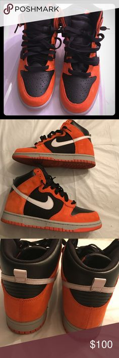 Nike Dunks GREAT CONDITION!! Used once Nike Shoes Sneakers