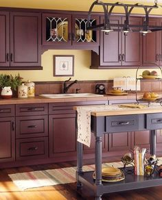 This Cottage Kitchen Has A Lovely Country Color Scheme