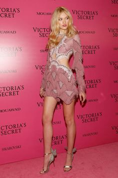 Maggie Lane attends the 2017 Victoria's Secret Fashion Show After Party on November 20 2017 in Shanghai China
