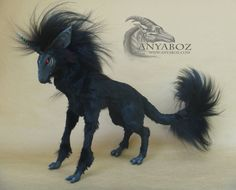 Dark Unicorn Room Guardian by AnyaBoz.deviantart.com on @deviantART