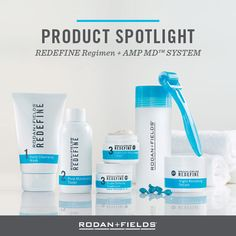 """Are you ready to take a firm position on anti-aging in 2016? Amp up your skincare routine by adding REDEFINE AMP MD™ System to your REDEFINE Regimen to help defend against and reduce the visible signs of aging for noticeably firmer, smoother, flawless-looking skin.  """"PIN"""" if you use our REDEFINE Regimen + AMP MD to defend against signs of aging."""