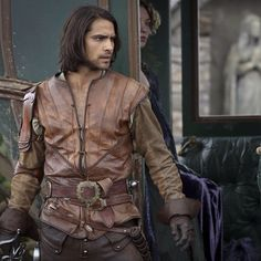 Luke Pasqualino as D'Artagnan. The Musketeers