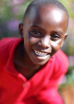 Zambia, boy by Dietmar Temps, via Flickr