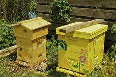 How to build warre garden hive with low cost materials.