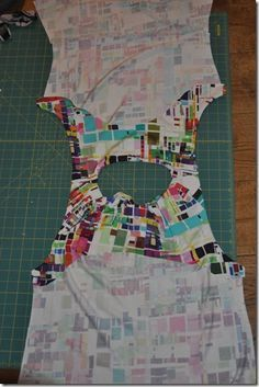 Sigrid - sewing projects: How to sew a sleeveless top with facings