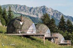 Eco-Resort and Glamping Domes Whitepod Winter Eco-resort Domes