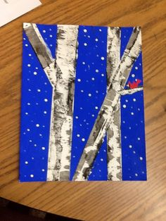 Aspen tree art work by me!