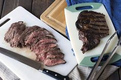 Learn how to prepare absolutely perfect steaks using your gas grill! This article covers bone-in ribeye and flat iron steaks.