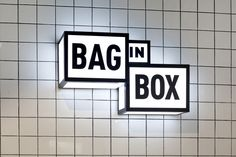 Bag in Box by Wanna One, Madrid – Spain » Retail Design Blog
