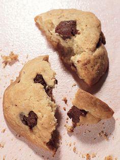 Brownie-Chunk Cookies - Bon Appétit