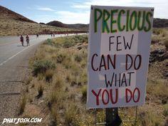 Precious few can do what you do.