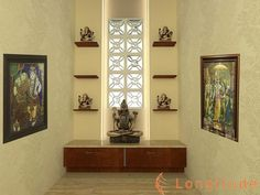 Cream Wall In Puja Room  Kitchen  Pinterest  Puja Room Cream Beauteous Pooja Room In Kitchen Designs Inspiration Design