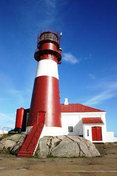 Ryvingen Lighthouse, Mandal, Norway