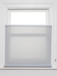 Bottom Up Roller Blind In Steel Sunscreen Fabric Available From The Living Room Blinds