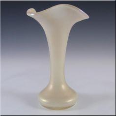 Kralik Art Nouveau 1900's Iridescent Mother-of-Pearl Glass Vase - £39.99