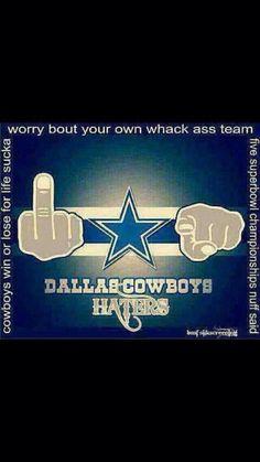 Dallas Cowboys haters
