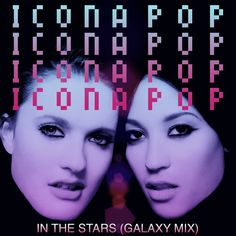 Yesterday I gave you a glimpse of Icona Pop's debut album 'This Is…Icona Pop' and now today, I can finnnaallly give you my pick for Song of the Week! It's the dreamy track, that unfortunately won't appear on their album, 'In The Stars'. Icona Pop, Pop S, News Track, Debut Album, Music Stuff, Pop Music, Love Songs, Aesthetic Pictures, Music Videos
