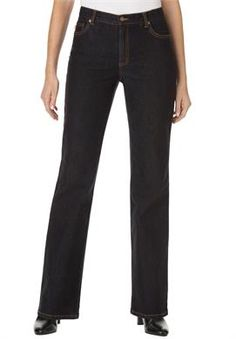 Jean, stretch, bootcut, 5-pocket styling   Plus Size All Jeans   Woman Within #WWFallContest