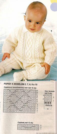 Тёплый комбинезон с аранами Knitting, Crochet, Babys, Crafts, Tricot, Breien, Hand Crafts, Babies, Manualidades