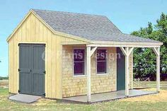 Are you looking garden shed plans? I have here few tips and suggestions on how to create the perfect garden shed plans for you. Shed Plans 12x16, Diy Shed Plans, Storage Shed Plans, Diy Storage, Small Storage, Building A Shed, Building Plans, Building Ideas, Building Design