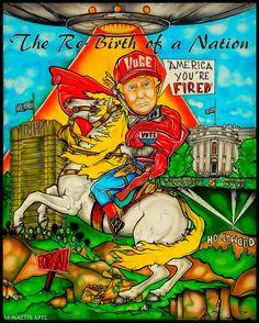 #MonasticArts #RebirthOfANation #Trump #democracy #oligarchy #columbusmakesart
