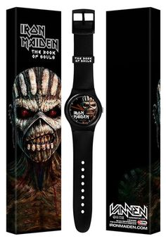 Iron Maiden - Book Of Souls Watch - 2015