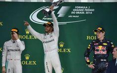 Hamilton vence em Interlagos