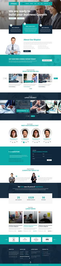 Corporate and Business Agency Template by DesignLight   ThemeForest
