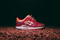 The Ronnie Fieg x ASICS Gel Lyte III Volcano