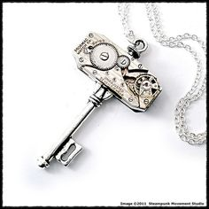 Steampunk jewelry from SMStudio on