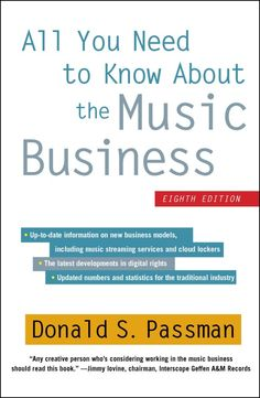Book Excerpt: All You Need To Know About the Music Business