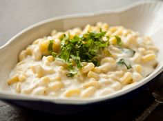 Mozzarella Macaroni and Cheese - for a migraine elimination diet use fresh mozzarella and cut into small cubes. For gf substitute the pasta for a gf pasta and the flour for gf flour such as rice flour.