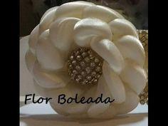 Como hacer flores lindas y elegandes de liston para lazos, video 549, Make Simple Easy Bow tutorial - YouTube