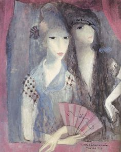 marie laurencin | this month in Paris - marie laurencin - Sharon Santoni