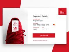 Credit Card Checkout designed by Angel Davchev. Connect with them on Dribbble; Website Design Inspiration, Design Blog, Creative Design, Company Profile Design, Wordpress, Portfolio Web Design, Mobile App Design, Brand Guidelines, Web Layout