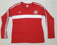 Related image Retro Football Shirts, Athletic, Long Sleeve, Sleeves, Image, Mens Tops, T Shirt, Jackets, Fashion