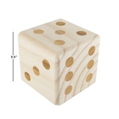 Giant Wooden Yard Dice Outdoor Lawn Game to your family game night rotation!
