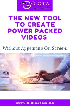 I know that probably 85% or more my followers aren't doing it. I get it... It's TOTALLY scary. Don't be scared any more!!! In my newest podcast (Episode #30!!), I'm sharing with you some powerful info and my newest, coolest tool to... Create Power Packed Videos Without Ever Appearing On Screen! Don't miss out on the real power of video.