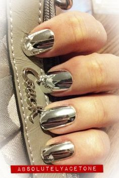 Mirrored nail polish.... Somebody needs to tell me where I can finally get this. I've been looking for it forEVER