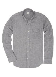 Twillsby slim fit grey long sleeve men's shirt $108 #bonobos #shirt @Bonobos
