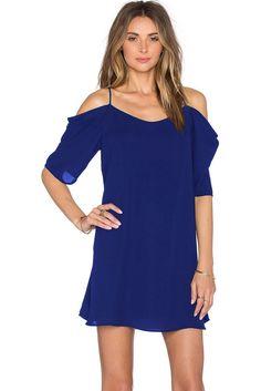 $12.83 Royal Blue Off Shoulder Chiffon Mini Dress http://en.modebuy.com @modebuyshop #modebuyshop @modebuy #modebuy #Blue  #dress #cute #me #out #so #art #AllShots