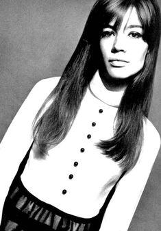 Françoise Hardy by David Bailey for Vogue UK, December 1965