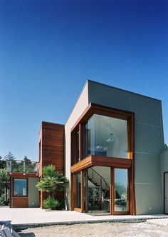 monte serino residence modern house architects 8 Unexpected Design Twists: Monte Serino Residence in San Francisco – architecture Architecture Design, Residential Architecture, Amazing Architecture, Contemporary Architecture, Modern Contemporary, Modern Architecture Homes, Landscape Architecture, Modern Exterior, Exterior Design