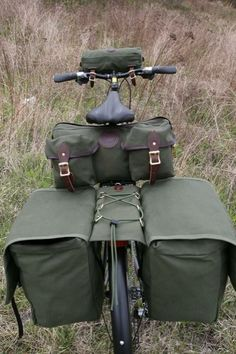 Hobo Seat Bike Bag :: Duluth Pack :: Made in the USA :: Quality leather and canvas luggage, backpacks, camping, and outdoor gear,