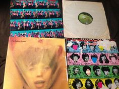 Vintage Vinyl Record Rare Lot (4) The ROLLING STONES !!! Highly Collectible!  | eBay
