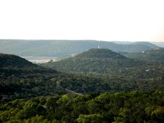A Mountain Top RV Park At Jonestown Texas