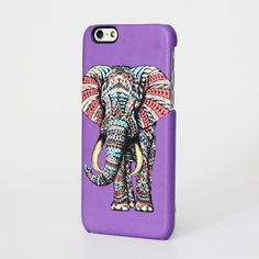 Ethnic Elephant Design iPhone 6 Case/Plus/5S/5C/5/4S Protective Case #357