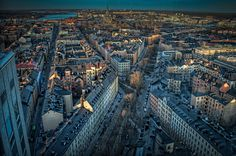 """""""Sodermalm Cityscape"""" by Oliver Winter, via 500px. Sweden"""