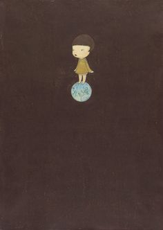 Patch of the Earth by Yoshimoto Nara