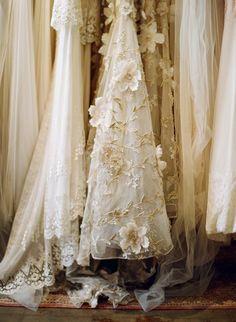 Flowers – Spring 2013 Wedding Dress Trend